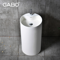 Best Selling Wash Hand Pedestal Bacia Basin with Low Price