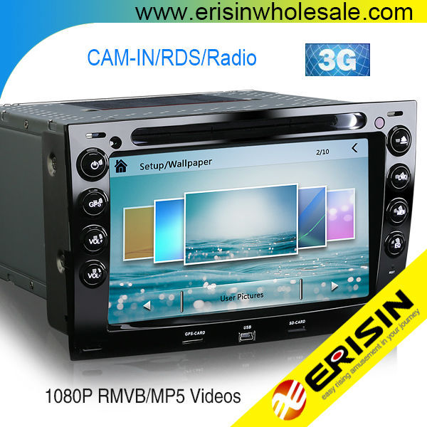 Erisin ES7691M 2 Din Touch Screen Car DVD Player with Canbus for RENAULT MEGANE