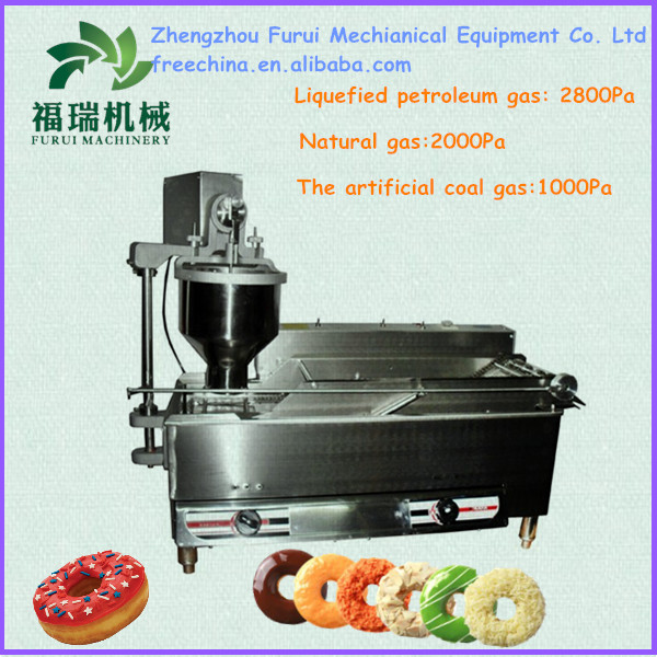 CE proved gas driven donut making machine,ball forming machine with gas supported,doughnut maing machine