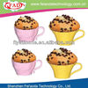 Eco Safe World Cup FDA Approved Shenzhen Factory Silicone Airbrush Cupcake Baking Mould