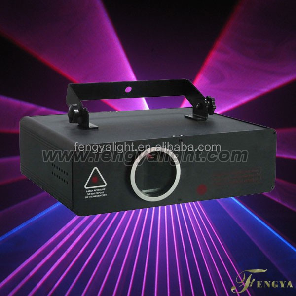 2w RGB laser stage light animation+ beam effect wedding dj club