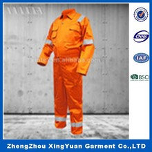 Hi Vis reflective winter Waterproof insulated Safety Coverall