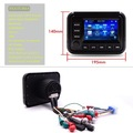 "shenzhen supplier wholesales latest waterproof car mp3 radio 5""TFT touch screen for vehicle sauna spa shower pool toilet"