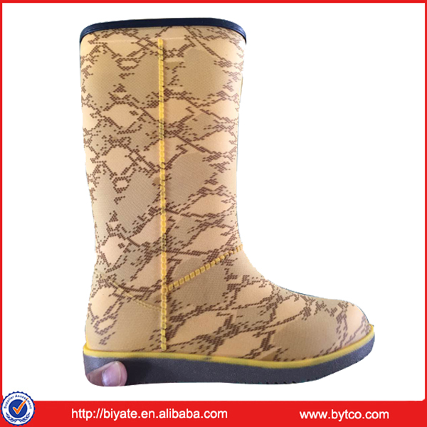 Women High Quality Rubber Injected Rain Boots