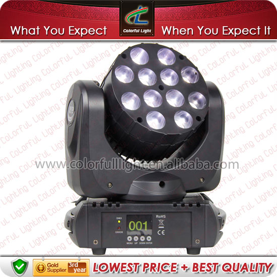 RGBW LED Mini Beam Moving Head Stage Light for Promotion in China