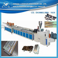 PVC profiles production machine for PVC buckle plate profiles hot sale in Iran Teheran