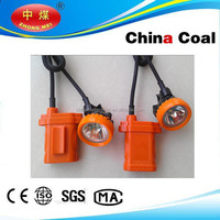 China coal rechargable underground led mining helmet light