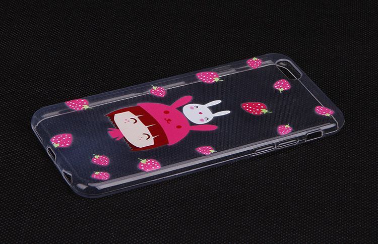 OEM clear tpu pc cell phone cover