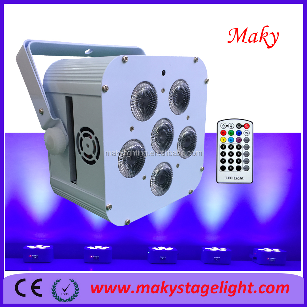 18w LED Mini Flat Par Party Decoration DJ Stage Lamp Stage Lighting Effect