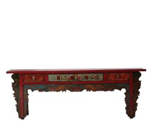 Chinois Antique À La Main table d'autel Tibet antique meubles