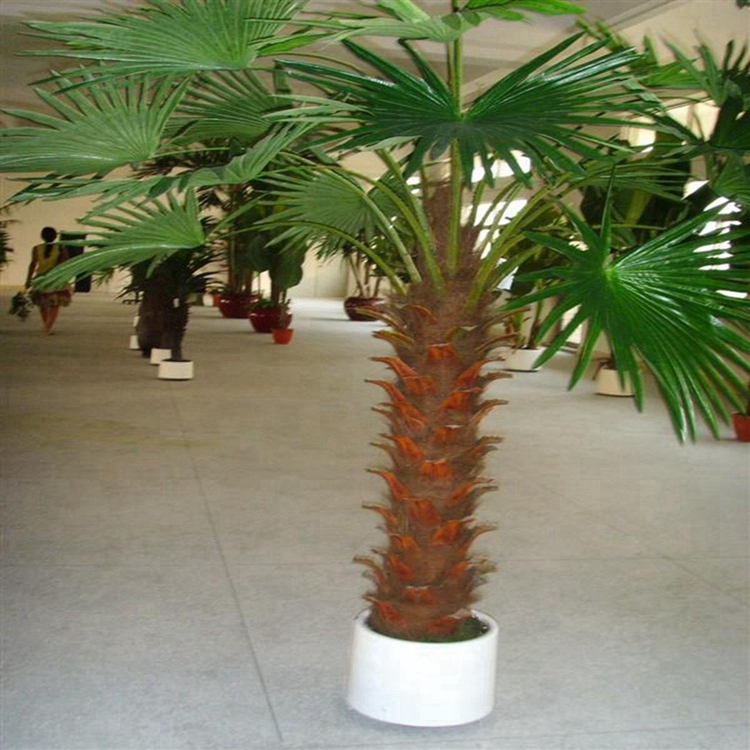 Outdoor Artificial Palm Trees With Solar Lights Buy Outdoor Artificial Palm