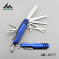 colorful stainless steel multi function knife
