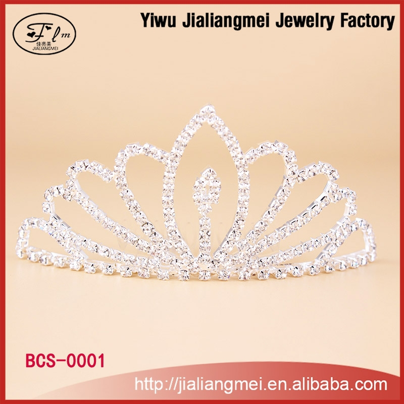 wholesale bulk princess rhinestone pageant crowns and tiaras rhinestone crystal wedding hair accessories bridal crown tiaras