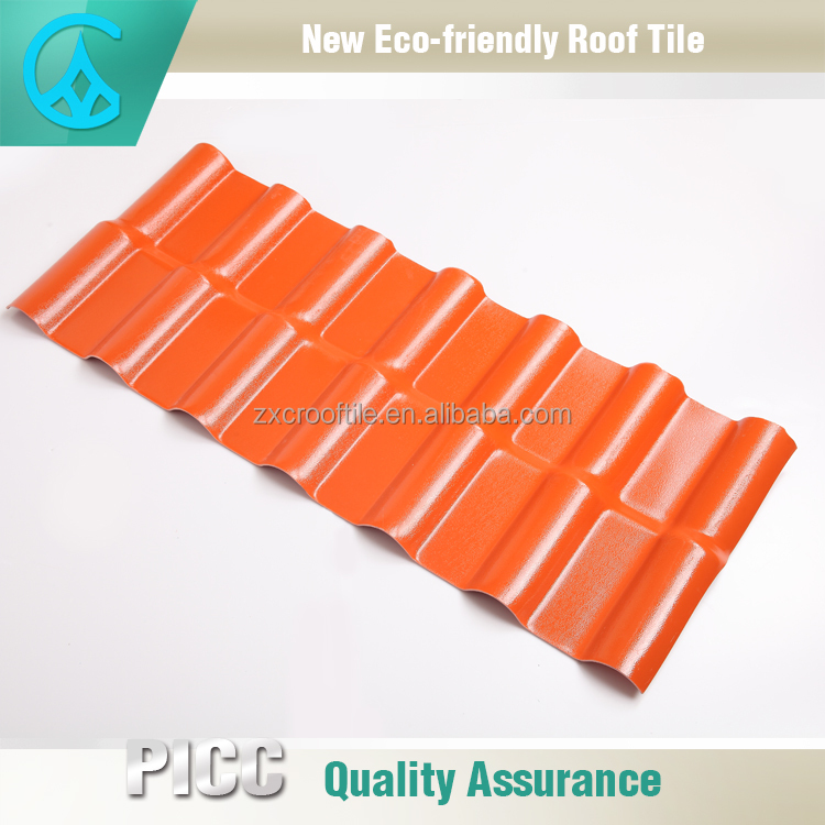 Trapezoid type plastic roofing material Vinyl Roofing Products