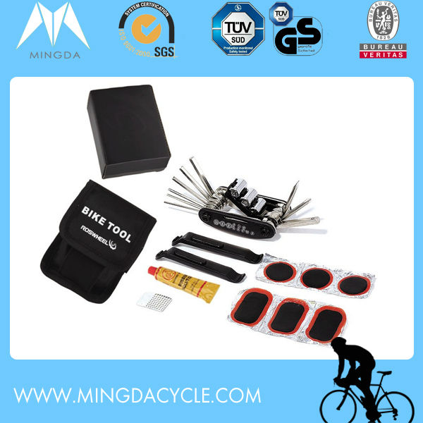 Wholesale High Quality Bicycle Repair Tool Kit with Saddle Bag