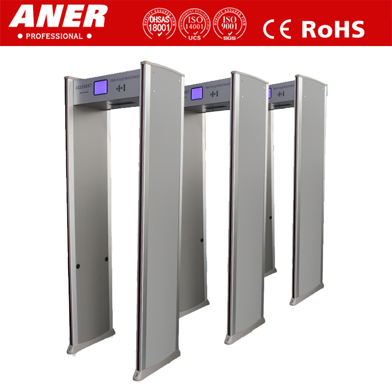 2013 NEW KIND Remote control body scanning machine in airport walk through metal detector door with wholesale price