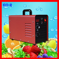 Portable restroom odor remover ozone generator air cleaner machine