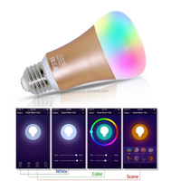 Wifi Smart LED Light Bulb Smartphone 7W App Controlled Dimmable Multicolored Color