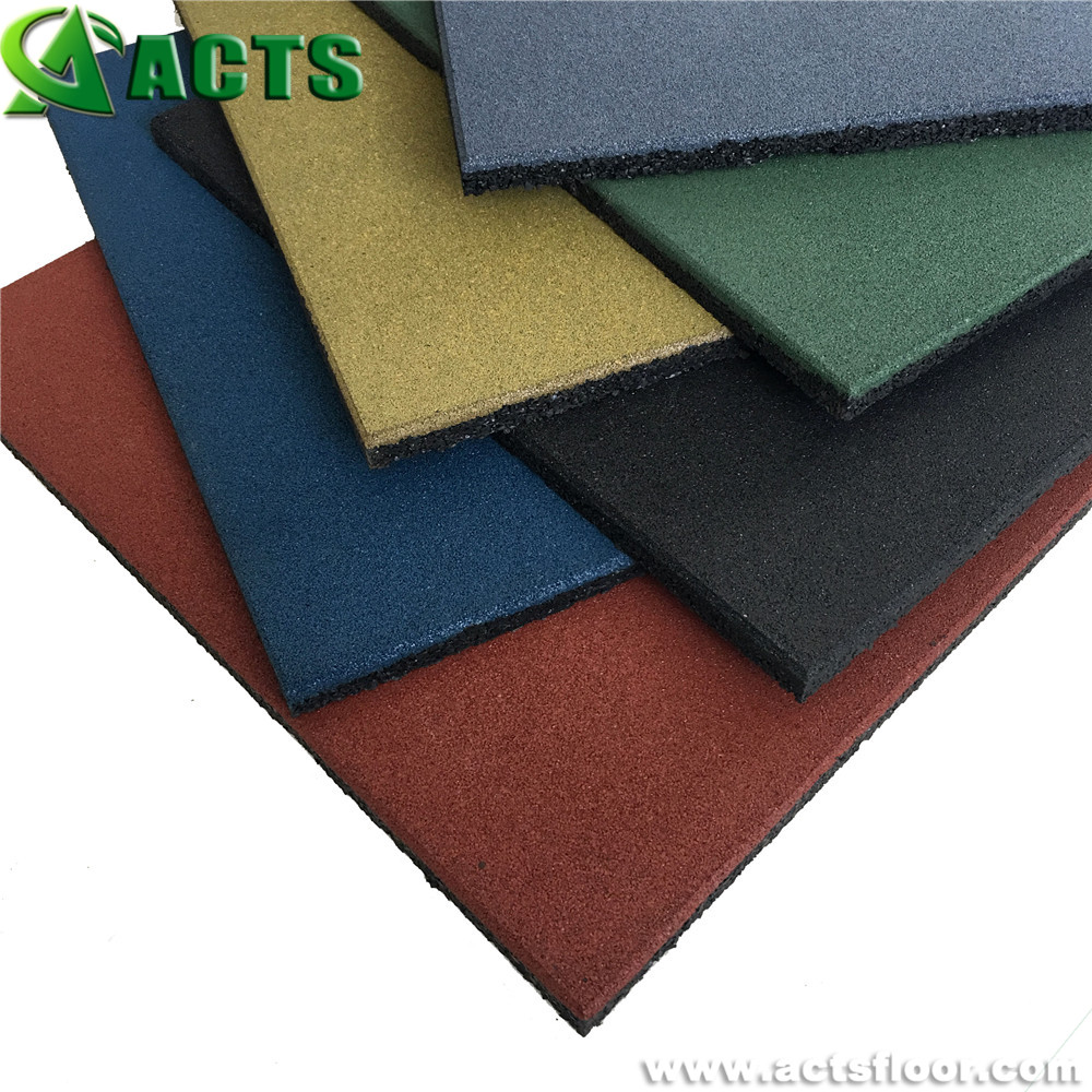 Multiple Color Patio Rubber Mulch for School Playground