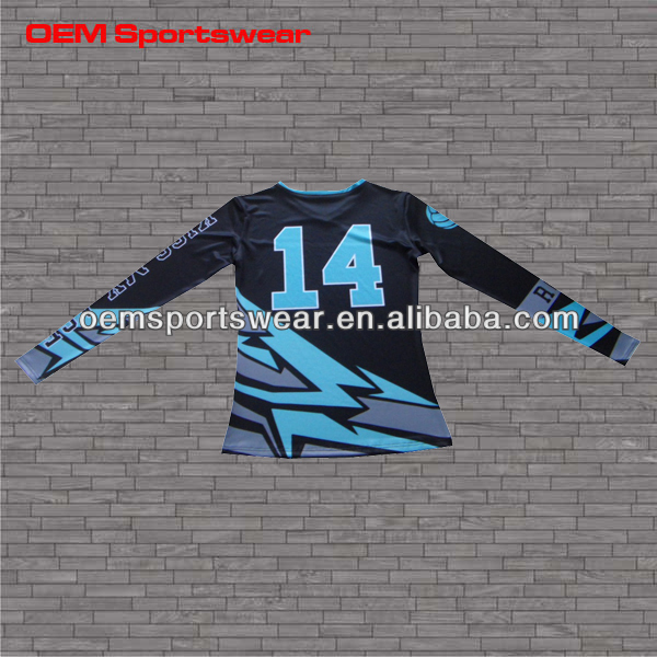 hot sale custom volleyball sports uniforms designs in sublimatiion