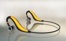 2014 new unique stereo bluetooth headset with water resistant funtion