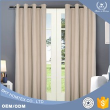 2017 New design blackout curtain fabric for the Living Room