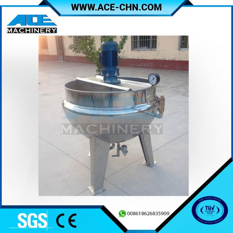 Stainless Steel Food Cooking Mixer Machine/Cooking Mixer 400l Gas