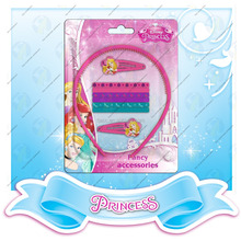 Princess hair accessory set plastic Hair band with tooth for children