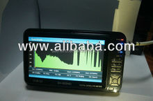 Real Specteum Analyzer DVB-S2 Satellite Signal Finder & 8PSK C/Ku Band Satellite Finder Meter HD with 7 inch LCD, USB 2.0