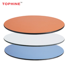 TOPHINE Furniture Restaurant Round Compact Table Top /Hpl Dining Table Top