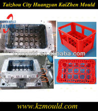 High quality customized 15 bottles plastic beer box mould/plastic beer case mould