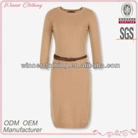 new arrivals women's clothing garment apparel direct factory OEM/ODM manufacturin women long sleeve classic business dresses