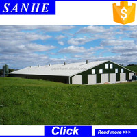 Modern Prefab Steel Structure Camp for Poultry House with Light Steel Structure