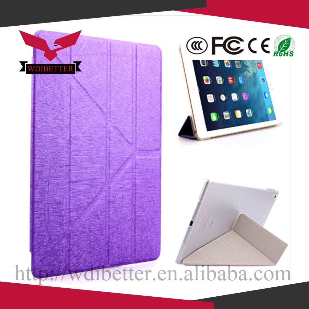 Ultra Thin Fashion Colorful Smart Cover Hard Back Case For iPad 5 Air Mini