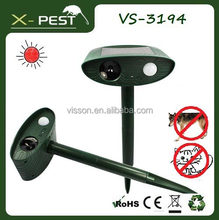 solar bird repellent visson X pest VS3194 PIR chaser wild animal pest control