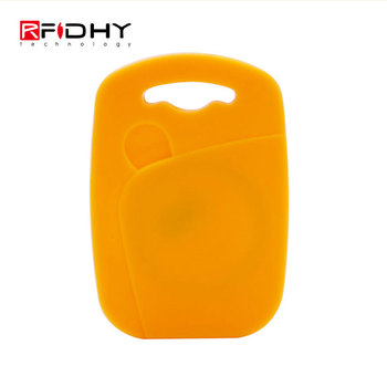 Passive RFID Tag 125KHZ RFID Keyfob Proximity ID Token Key Ring with EM4305 Chips for Copier Duplicator