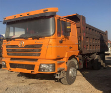 10 wheels F3000 manual transmission used Shacman 6x4 dump tipper truck