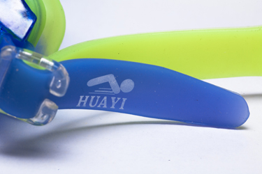 Transparent color mix advanced oem logo swimming goggle