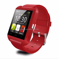 Hot selling trendy led waterproof cdma watch mobile phone u8