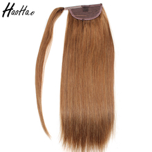 Best selling Brazilian remy human hair extension white women human hair ponytail