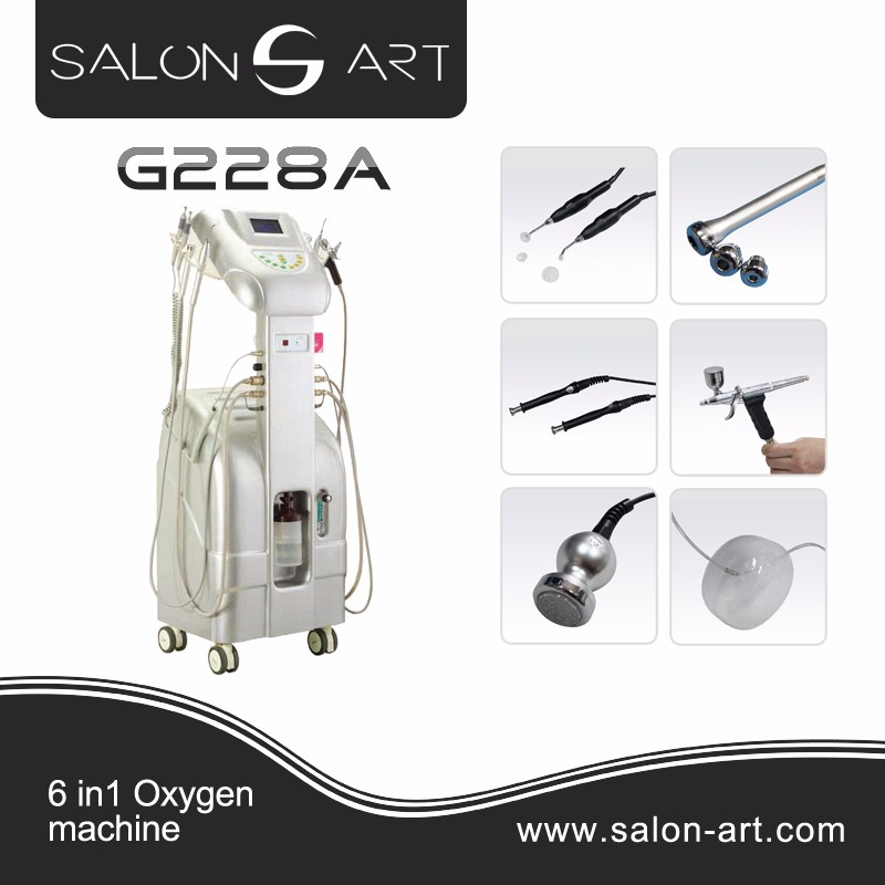 Professional skin whitening injection oxygen jet for skin peeling facial machine