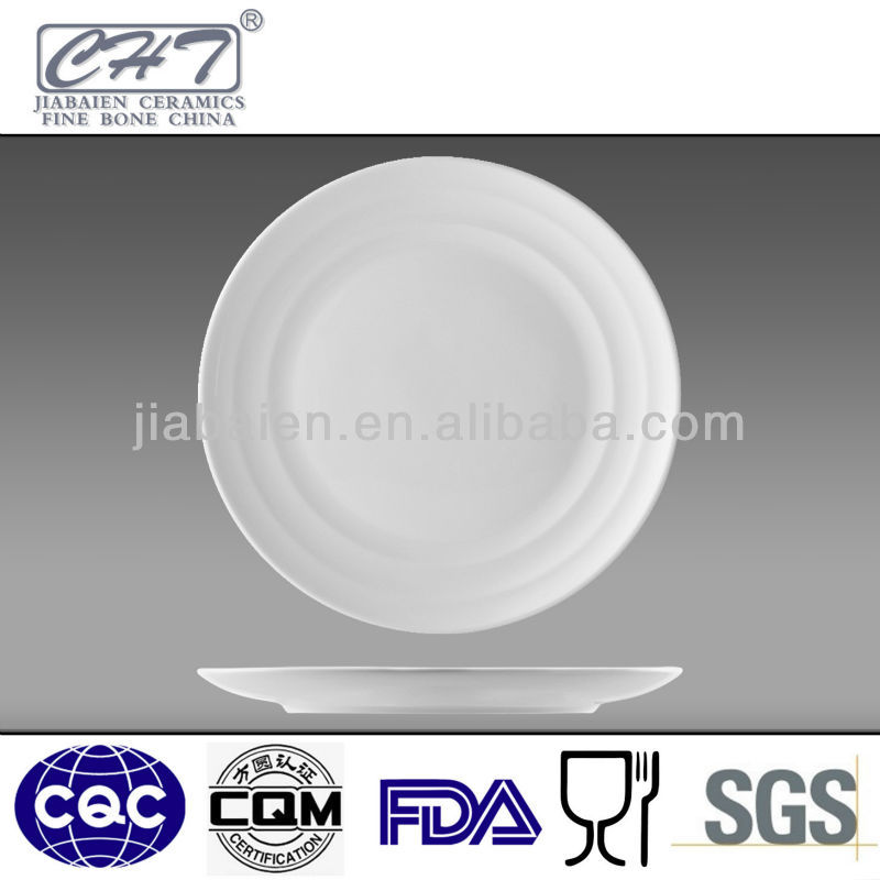 Good quality bone china porcelain banquet small plate