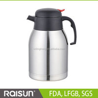 Food Grade Double Walls Stainless Steel Vacuum Coffee Pot 1.2L 1.5L 1.8L for America