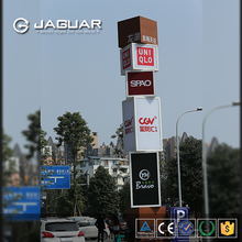 factory direct indoor and outdoor free standing advetising billboard led lighting box signs