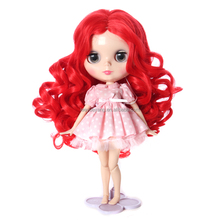 Red Curly American Girl Doll Wig Nylon Doll Hair Wig
