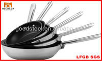 MSF professional 316 stainless steel cookware with non-stick coating