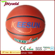 factory basketball with custom logo