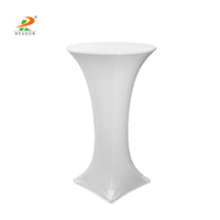 Round Highboy Cocktail Spandex Table Covers/bar table cover
