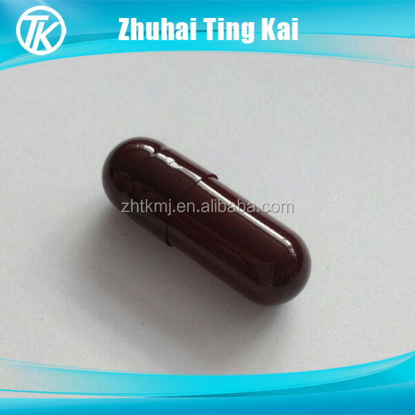 2017 best sale water soluble empty capsules 0 size