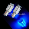 CE ROHS 12v 18 Super Flux Blue LED For Motorcycle/Car/Auto/Truck Use Auto Lamp Brake Light Bulbs